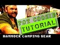 Hammock Camping Gear - Let's Make a Pot Coozie! Gear Tutorial