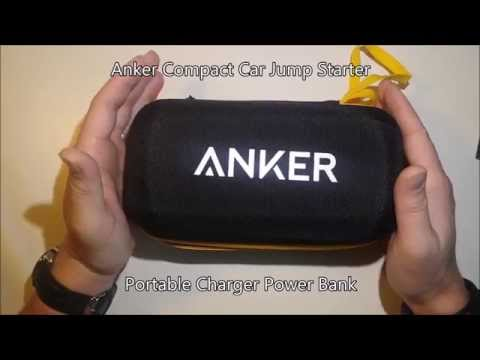 Anker Compact Car Jump Starter Power Bank Review