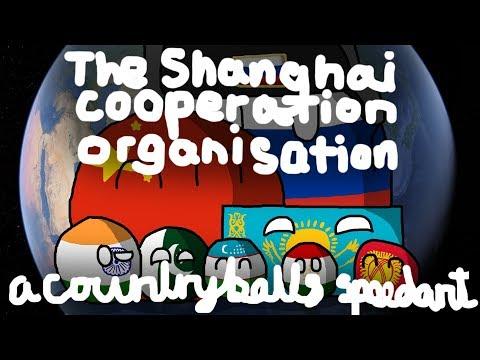 Rossiya likes ушанка | The Shanghai Cooperation Organisation (SCO) | Countryballs Speedart #14