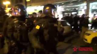 NOPEGIDA Frankfurt - Knüppel, Schläge, Pfefferspray gegen Antifaschisten