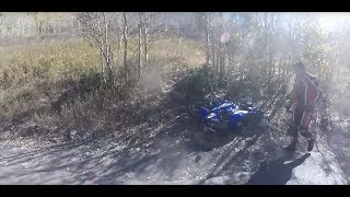 Extremely Close Calls, Road Rage, Crashes, Angry People & Scary Motorcycle Accidents [EP #147]