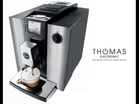 jura f900 in chrom kaffeevollautomat thomas electronic online shop youtube. Black Bedroom Furniture Sets. Home Design Ideas