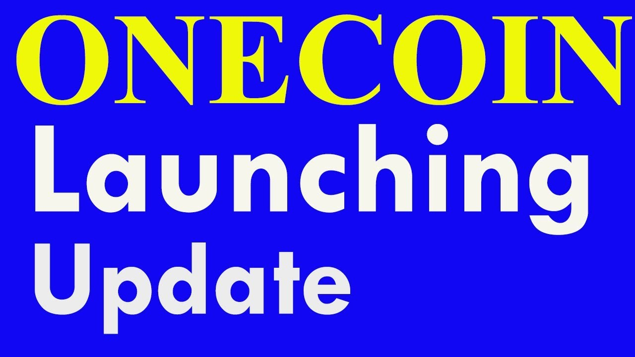 Update about onecoin launching || Hindi Urdu