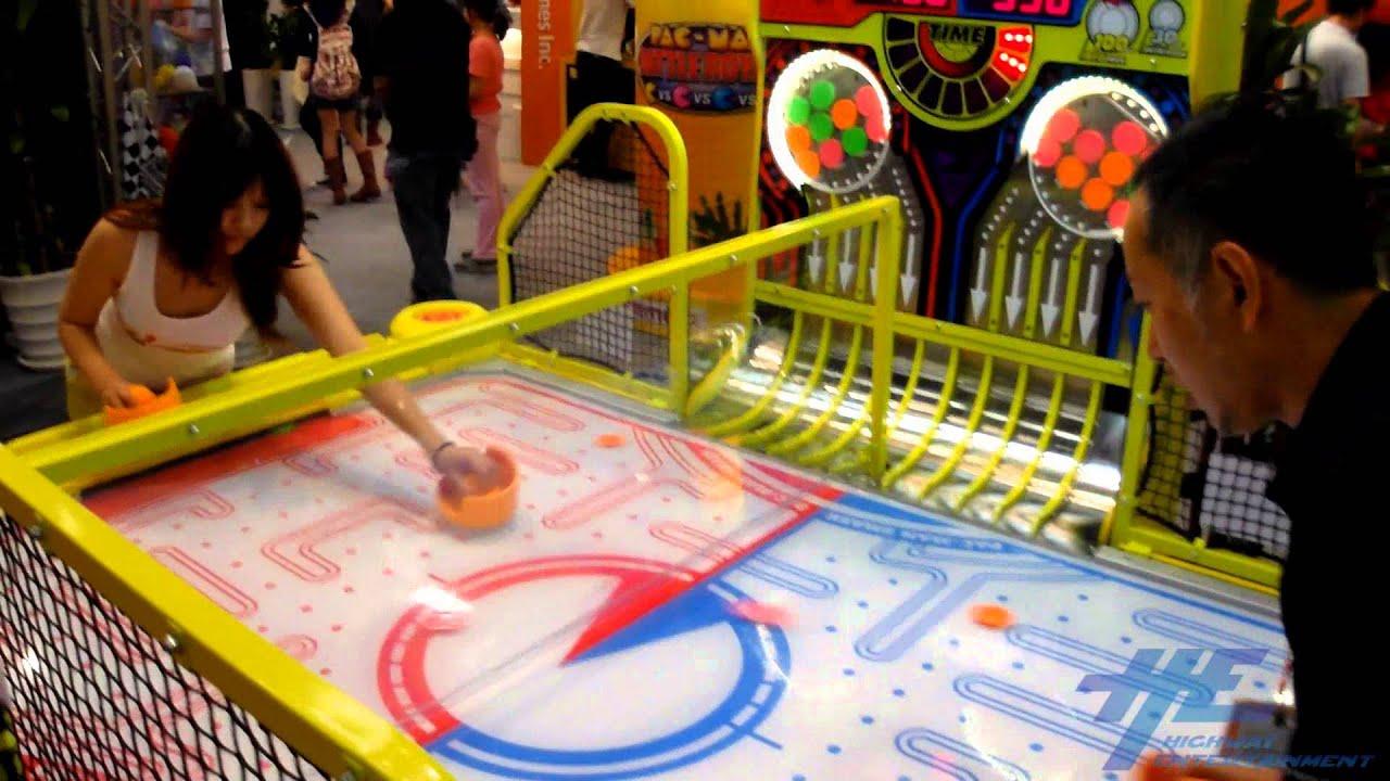 Pac Man Machine >> Pacman Smash Arcade Machine Namco - YouTube