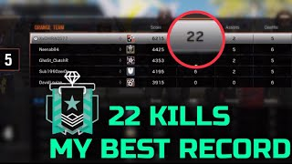 THE REAL DIAMOND CARRY 22 KILLS - Rainbow Six Siege