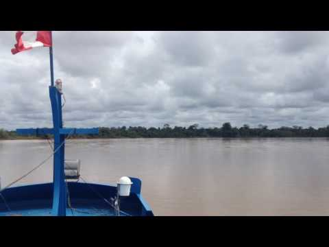 My Trip To Peru, South America - Travel & Tourism On A Boat On The Amazon #6