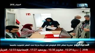 مصرية تسافر 200 كيلومتر في درجة حرارة تحت الصفر للتصويت بالنمسا