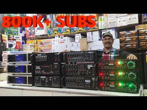 BHARAT ELECTRONICS THANKS FOR 800K+ SUBS BEST DJ SYSTEM AND BLUETOOTH MIXER 300 WATT ECHO AMPLIFIER