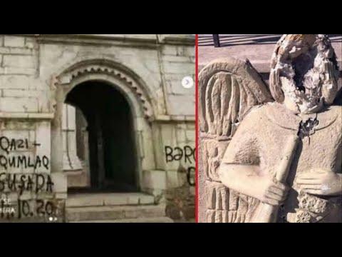 Армянская церковь обвинила Азербайджан в осквернении собора в Шуши