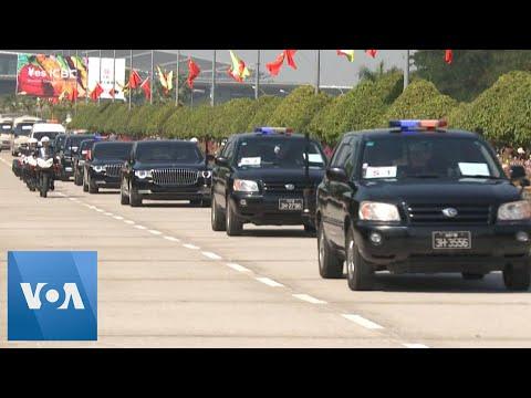 Chinese President Xi Arrives in Myanmar