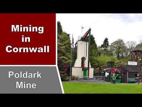 Poldark Mine - Tin Mining in Cornwall England