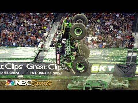 Monster Jam 2019: Nashville, TN   EXTENDED HIGHLIGHTS   Motorsports On NBC