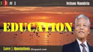Iq Nelson Mandela Quotes About Education