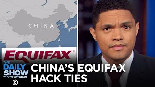 Equifax Hack Facts, Disney's Fundraiser Fine & A Zoo's Revenge Roaches | The Daily Show