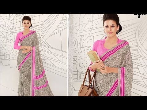 01fc575d76d0c7 Buy Online - Top Beautiful Designer Sarees To Wear For Offices, Schools,  Colleges, airhostess