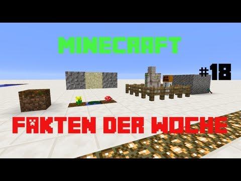 Minecraft 3 Fakten der Woche #18: Magic Podzol und Schneemann und Golem an der Leine
