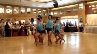 Latin Dance Formation (chachacha)