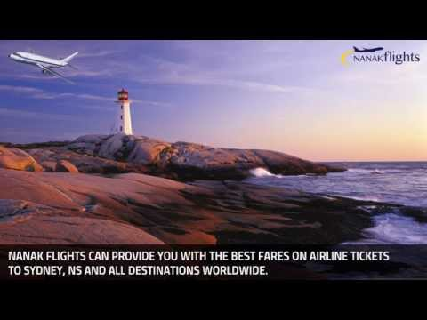 Beaches In Sydney, Nova Scotia - Cheap Flights To Sydney - Nanak Flights