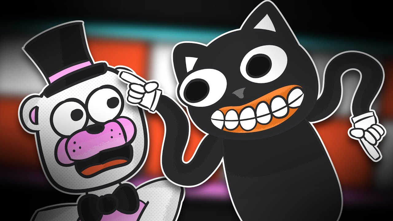Minecraft Fnaf Cartoon Cat Attacks (Minecraft Roleplay)