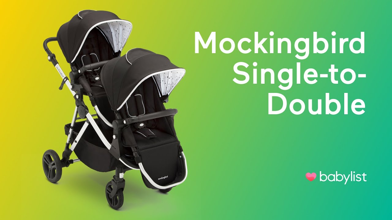 Mockingbird Single-to-Double Stroller Review - Babylist ...