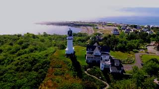 Cape Elizabeth Light In Fog v3