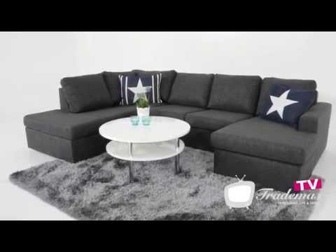 Soffa Nevada 3-sits med divan, Mio from YouTube · Duration:  33 seconds