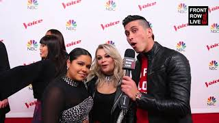 Brooke Simpson & Ashland Craft Reveal First Instruments & Songwriting | THE VOICE TEAM MILEY