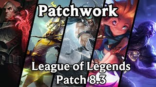 Patchwork - League of Legends: Patch 8.3 (Rune Relocation, Swain Rework, Zoe Nerfs)