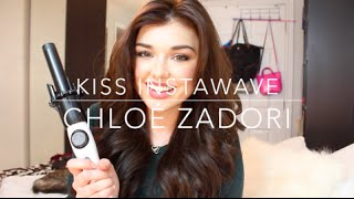 Review and Tutorial: Kiss InstaWave Automatic  Curling Iron | Chloé Zadori