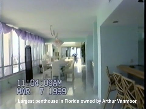 Largest penthouse in Florida owned by Arthur Vanmoor