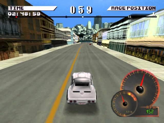 Test Drive 4 (PS1) - San Francisco 1, USA