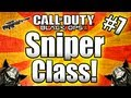 ★Black Ops 2 BEST SNIPER CLASS Full Setup Call of Duty Black Ops 2 Multiplayer Gameplay