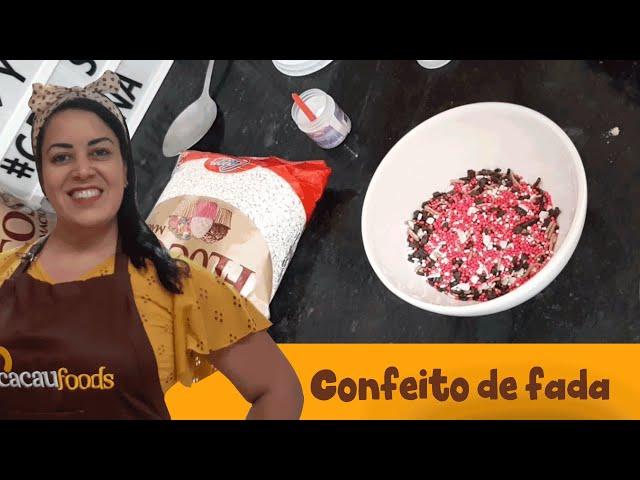 Confeito de fada   Cacau Foods