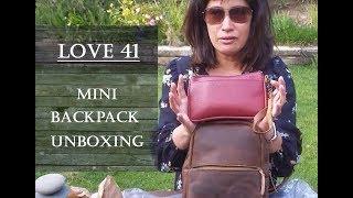 Love 41 - Mini Backpack, Unboxing