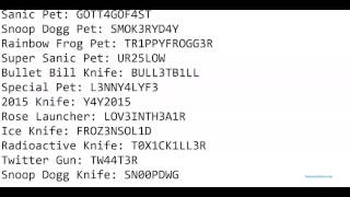 Roblox twisted murderer all codes 2015 2016 11 20