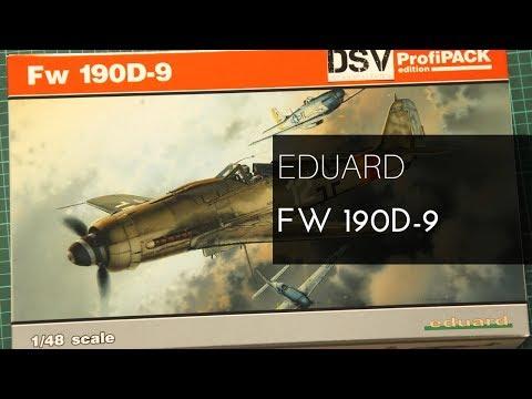 Eduard #8184 1//48 Focke-Wulf Fw 190D-9