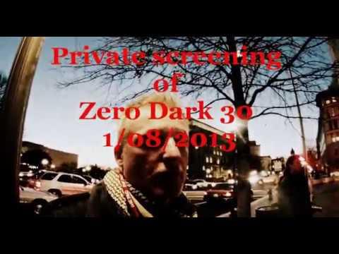 Close Guantanamo/Outside Zero Dark 30 private showing 1.08.2013