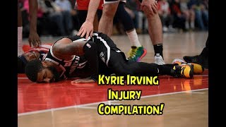 Kyrie Irving Injury Compilation (Part 1) Career!