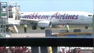 Planes at Barbados, Grantley Adams Intl Airport | 25/02/12