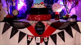 Alice In Wonderland Sweet 16 Event Production and Design by Dolce Vita Events