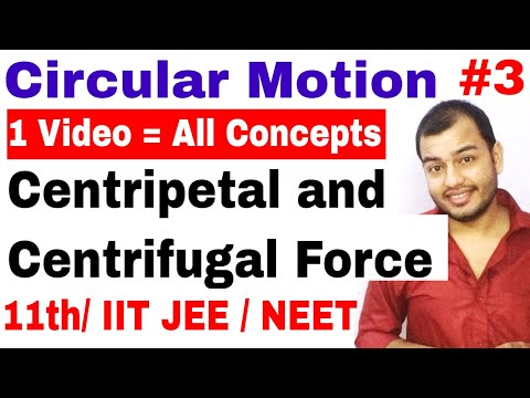 Circular Motion 03| Centripetal and Centrifugal Force IIT JEE/ NEET | Conical Pendulum |Death Well |