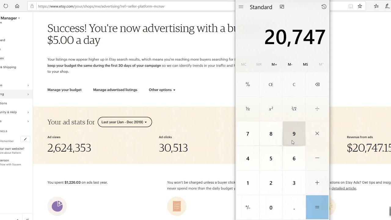 Etsy Ads vs Off-Site ads-- Two separate systems!
