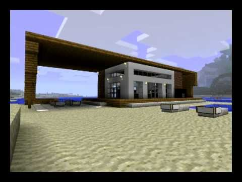 Minecraft Modern House Design And Modern Texture Pack