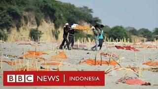 Covid-19 di India: Kuburan dangkal di Sungai Gangga mengancam 400 juta orang - BBC News Indonesia