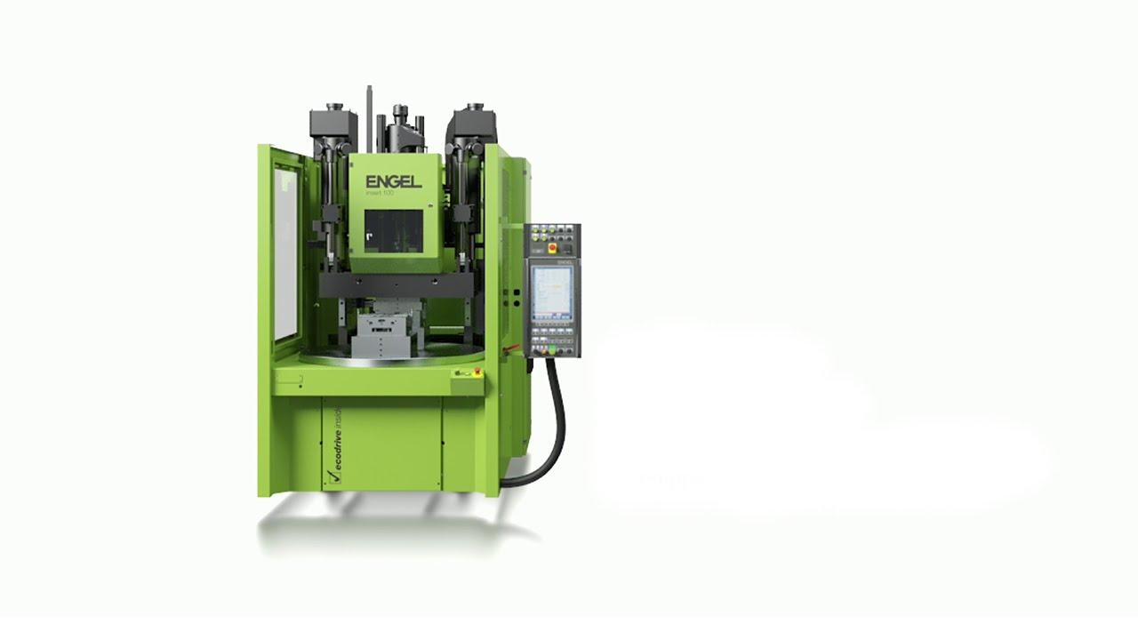▷ Vertical injection moulding machine | ENGEL insert
