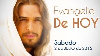 EVANGELIO DE HOY SABADO 2 DE JULIO 2016 EL VINO NUEVO NO SE ECHA EN ODRES VIEJOS