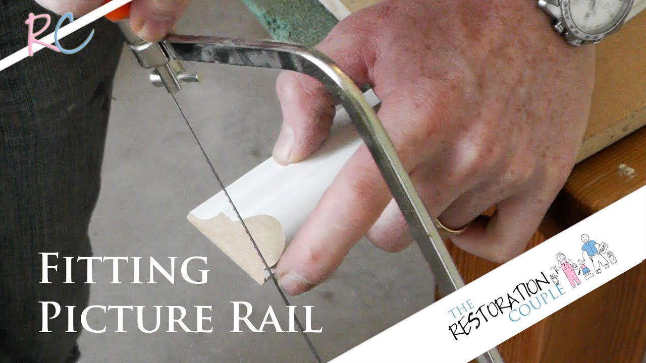 Chair Rail Scarf Joint Part - 48: How To Fit A Picture Rail