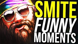 TANKS DO MORE DAMAGE THAN DPS! - SMITE FUNNY MOMENTS
