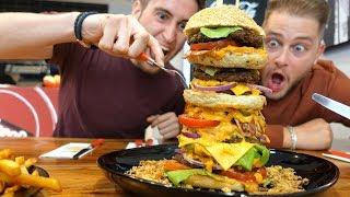 Der Monster Burger Deutschlands 🇩🇪🍔     FaxxenTV