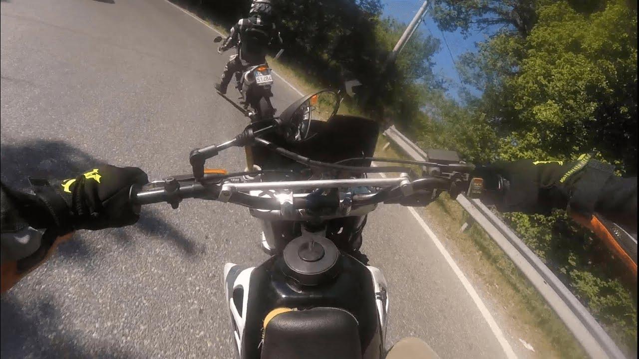 Supermoto On Fire | Yamaha WRX 125 vs Honda CRM 125 | 🔥